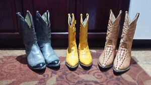 Cowboy boots for sale!  LIKE NEW!