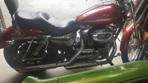 Harley Davidson Screaming Eagle Sportster Exhaust