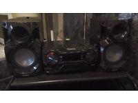 Panasonic hifi Stereo With Speakers