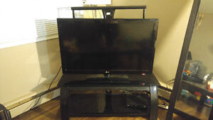 42inch LED tv amd stand