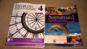 Northstar 4 and Focus on grammar 4 4th edition