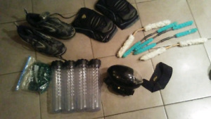 Used Paintball Gear with Paintball Gun For Sale