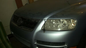 2004 Volkswagen Touareg Transmission and Battery SUV, Crossover