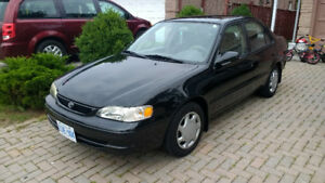 2000 Toyota Corolla 114K  ONE OWNER NO RUST + SNOW TIRES
