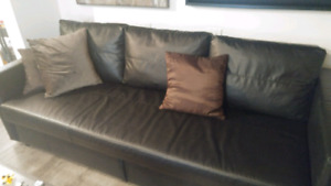 Bed storage couch want gone as soon as can.