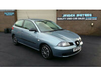 2006 SEAT IBIZA 1.2 12v REFERENCE 3DOOR,ONLY 69000 MILES WARRANTED