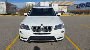 2011 BMW X3 35i AWD, NAV, Panoramic Roof, Sport Leather Seats