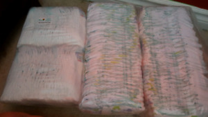 diapers size 1 & 2