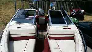 Urgent for sale 18 ft. Bowrider boat.