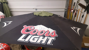3 Coors Light Patio Umbrellas $100 each OBO