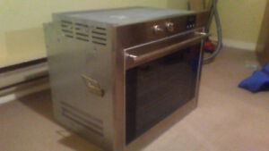Brand new 24 inch stainless steel oven Porter & Charles