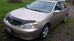 2002 Toyota Camry LE 5 speed