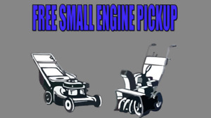 Wanted: FREE SMALL ENGINE PICKUP