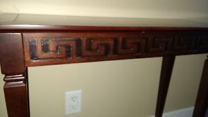 Bombay wood console or hall table
