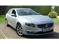 2016 Volvo V60 D3 (150) SE Lux Nav with Winte Manual Diesel Estate