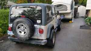 Hot deal! 2002 jeep wrangler as is. Brand new clutch! Stratford Kitchener Area image 5