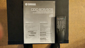 Top of the Line Yamaha CDC 905 5 disc cd player