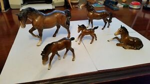 Beswick and Hertwig horses