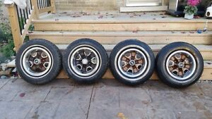 "GM Oldsmobile 14"" Rally Wheel Set"