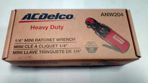 ACDELCO 1/4DR MINI AIR RATCHET WRENCH