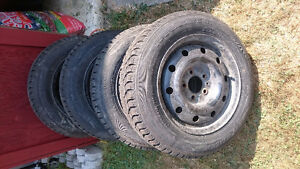 I have 4 Winter Tires on Rims London Ontario image 1