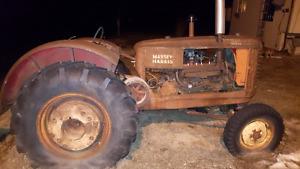 1947  Vintage Massey Harris tractor $500o.b.o.