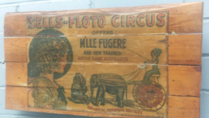 Very rare circus artifact from early 1900's