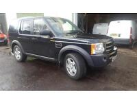 Land Rover Discovery 3 2.7TD V6 auto 2006MY S Black 126k miles
