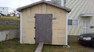 10 x 10 Outdoor Shed- like new