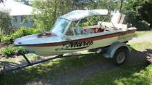 Hornet 13ft fiberglass + 40hp Johnson + trailer Maleny Caloundra Area Preview