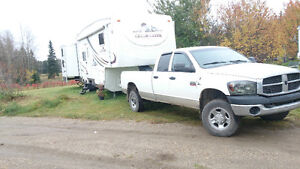 2009 Truck and 2005 camper combo