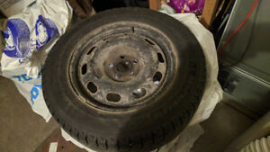 Michelin X-Ice winter tires 195/65R15 on Rims + full spare