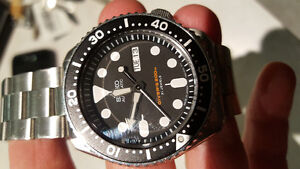 Seiko skx007 J Made in Japan Kitchener / Waterloo Kitchener Area image 3
