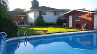 "OPEN HOUSE TODAY - """"SPACIOUS"""" BUNGALOW WITH 2O' X 40' POOL"