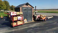 Firewood by the box or cord.... Open all Weekend