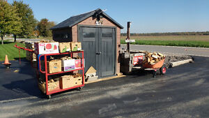 Firewood by the box or cord Windsor Region Ontario image 1