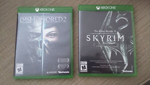 Dishonored 2  & Skyrim