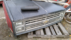 82 to 87 GM front clip