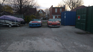 1989 iroc and z28 parts car