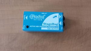 D.i. actif Radial stage bug