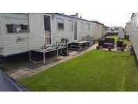 3 bedroom 12ft static caravan on Edwards caravan park Towyn