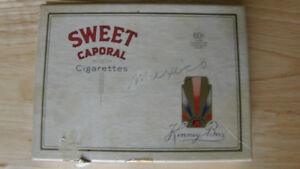 VINTAGE, RARE, COLLECTIBLE, SWEET CAPORAL CIGARETTES BOX