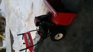 Mastercraft snowblower needs auger work or for parts