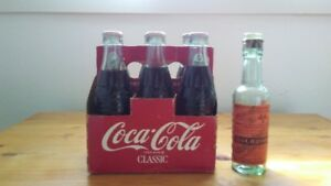 COKE SODA POP BOTTLES - 1890's WORCHESTER SAUCE BOTTLE