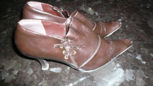VERY NICE PAIR ANKLE BOOTS SZ.7.5 only $20.00