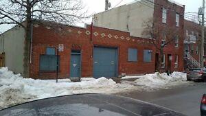 Warehouse/Garage/Entrepot space for rent/a louer  St Henri