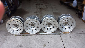 6 on 5 chrome  aluminum wheels