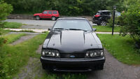 1987 Ford Mustang w/392 Windsor 575 hp Fully built car