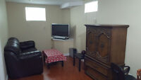 One Bedroom Available in two bedroom basement near Humber colleg
