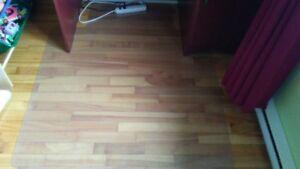 Sous-chaise pour plancher, traditionnelle, 45x53po
